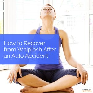 Chiropractic Care After An Auto Accident in Wichita KS