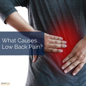 Chiropractic Care for Low Back Pain in Wichita KS