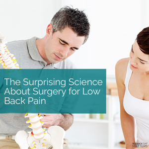 Surgery For Low Back Pain in Wichita KS