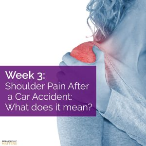 Chiropractic Wichita KS Shoulder Pain After An Auto Accident