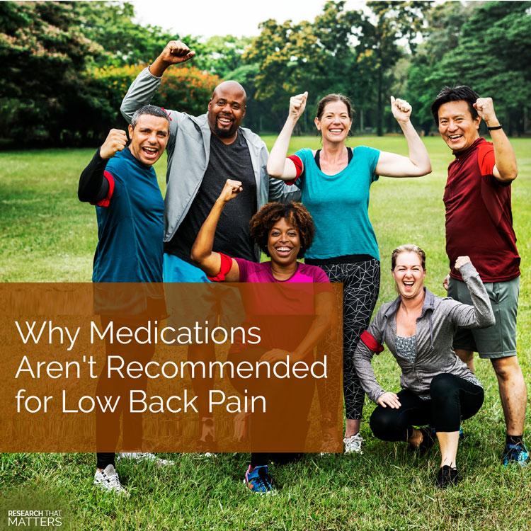 Chiropractic Wichita KS Low Back Pain and Medication