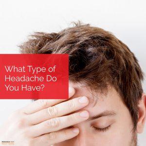 Chiropractic Wichita KS Types of Headaches